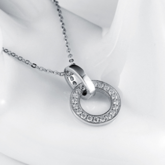 collar de plata esterlina joyas agate