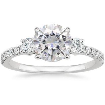 anillo de plata transparent joyas agate