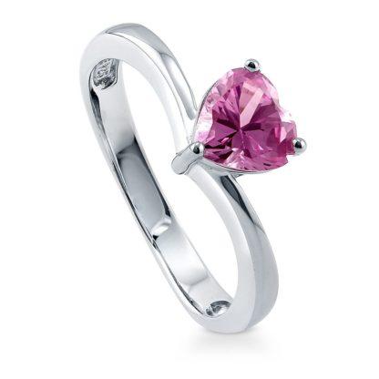 anillo de plata corazon de oro joyas agate