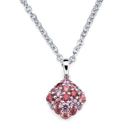 collar de plata flower neck joyas agate